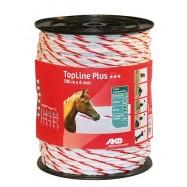 Elektriskā gana virve AKO TopLine Plus 6mm 200m