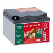 Lādējams akumulators AKO Premium AGM 32Ah