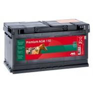 Lādējams akumulators AKO Premium AGM 110Ah