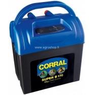 Ar akumulatoru darbināms elektriskais gans Corral B170 (9V vai 12V)