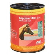 Elektriskā gana lente TopLine Plus, 20 mm/200 m