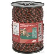 Elektriskā gana virve AKO PremiumLine 6,5mm 400m